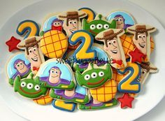 Galletas de Toy Story por Sugarbelle