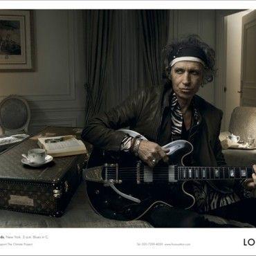 Keith Richards - Louis Vuitton