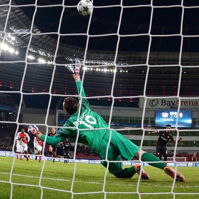 CL.Gruppenphase 16/17: Leverkusen- Monaco 3:0 - Wendell trifft nur die Latte, von De Sanctis springt der Ball ins Tor
