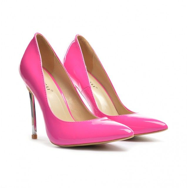 Pantofi dama fucsiastiletto toc 11 cm Sedone  ►Material exterior: piele ecointoarsa.  ►Material interior: inlocuitor piele.  Talpafoarte comoda, cu toc metalic de 11cm.Cumpara Acum! Stoc limitat!