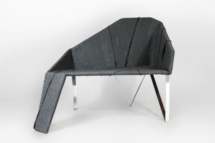 Manfred upholstery fabric on SHED project by Aleksandra Kramek.