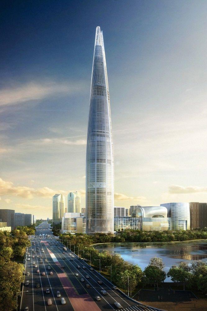 Lotte World Tower in Seoul, South Korea by KPF