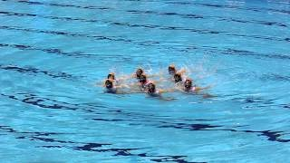 Team GB Olympic Synchronised swimming 19/04/2012, via YouTube.