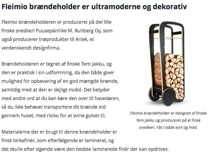 Bomagazinet / Denmark / Fleimio Trolley April 2015