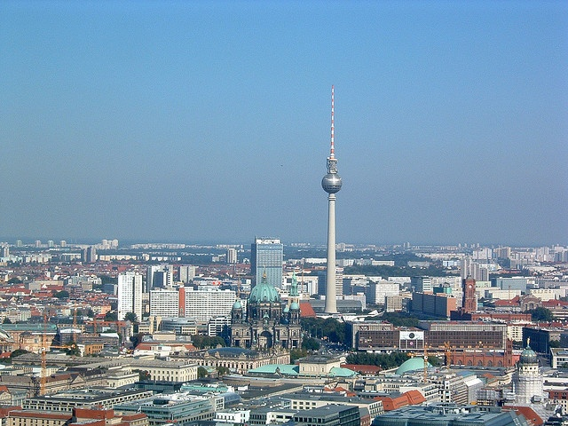 Berlin Skyline by There is always more mystery, via Flickr
