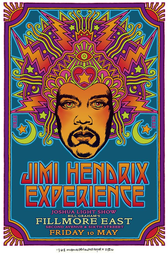 fillmore posters | Thread: Fillmore East '68 poster