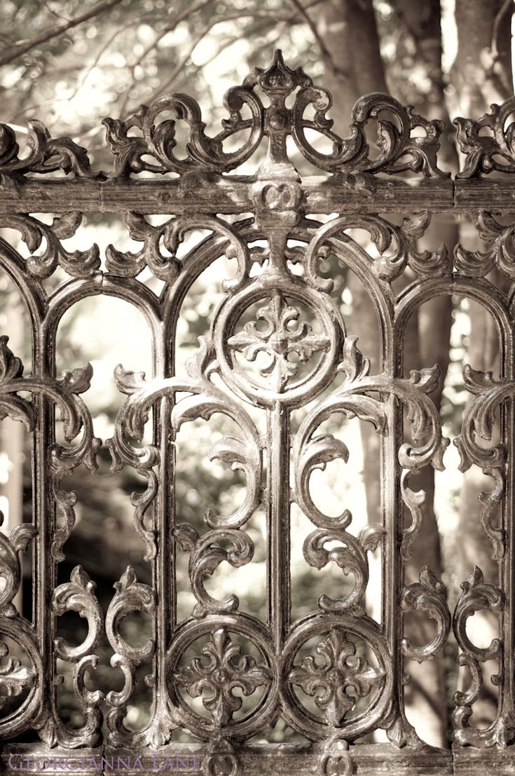 .Silver Fence, Iron Vines, Fab Fence, Wrought Iron, Iron Fence, Crescents Moon, Victorian Castles, Beautiful Iron, Iron Gates