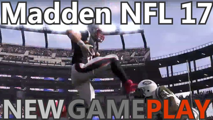Madden NFL 17 NewGameplay Trailer Part 1 Release Date #PS4 #PS3 #XB1 #XB...