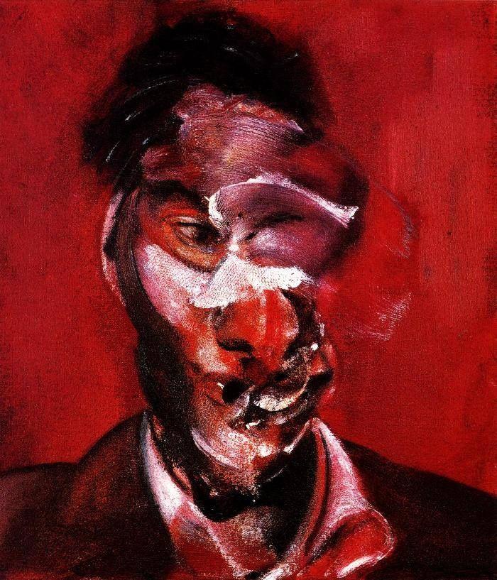 Francis Bacon - Ritratto di Lucian Freud