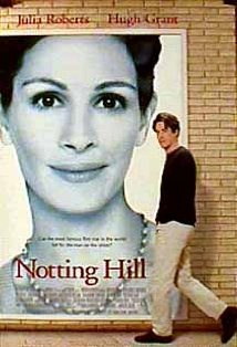One of my favorite movie, ever. Notting Hill (1999) ~ Hugh Grant,
