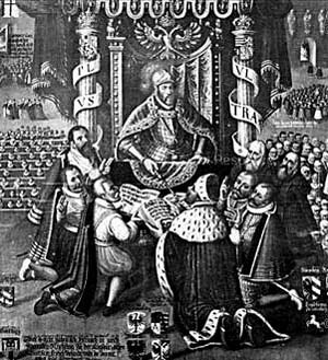 The Protestant powers in the Imperial Diet often voted against money for his the Protestant powers in the Imperial Diet often voted against money for his Turkish wars, as many Protestants saw the Muslim advance as a counterweight to the Catholic powers.