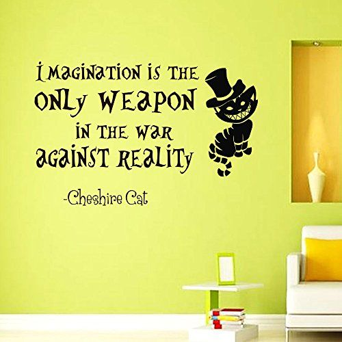 17 best images about alice in wonderland wall decals for Best home decor quotes