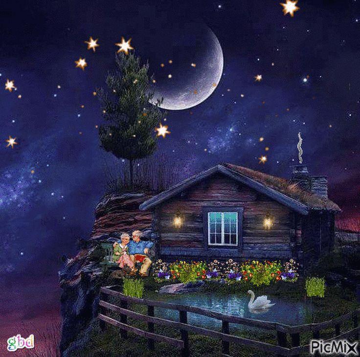 480 besten gute nacht abendgr e bilder auf pinterest animierte bilder bemalte kreuze und. Black Bedroom Furniture Sets. Home Design Ideas