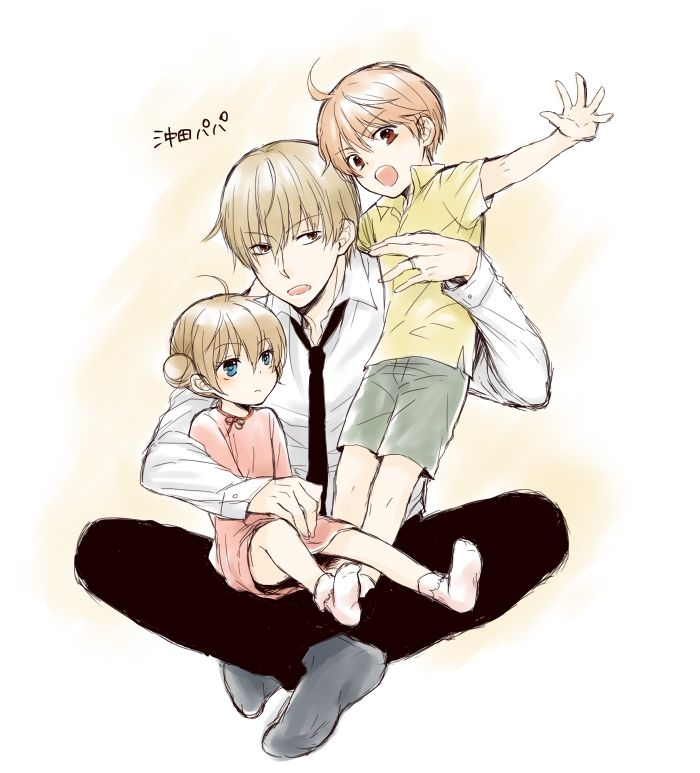 C: Sougo x Kagura S: Gintama D: Sougo and Kagura's kids