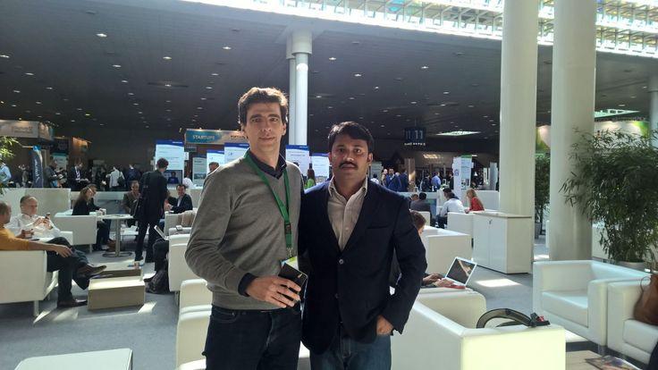 @onliquid It was pleasure meeting Mr.Alexandre vaz @CeBIT,Germany.We hope for a fruitful business tie -up henceforth.