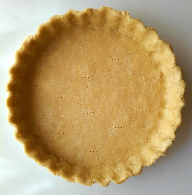 Coconut oil vodka pie crust is super flaky and perfect for any vegan sweet or savory pie. It's no more difficult than making a regular pie crust!