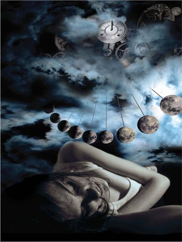 Czy wiecie, że fazy księżyca mają wpływ na sen? Badania Christiana Cajochena z Uniwersytetu Bazylejskiego pokazały, że w okresie około pełni księżyca aktywność mózgu związana ze snem głębokim spada o 30 %.