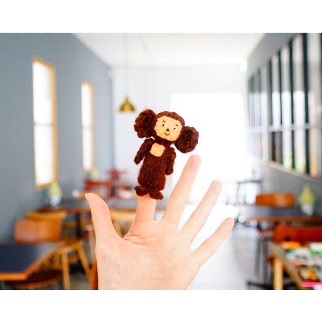 MIHO IOKA 井岡美保さんはInstagramを利用しています:「おはようございます。今日はカナカナとボリクコーヒーは定休日です。 ターニャの指人形のチェブラーシカの顔が変わりました〜。ちょっとビックリ。 明日まで神戸のマルカさんのオンラインショップでターニャの指人形を販売中。明日までよ〜。…」