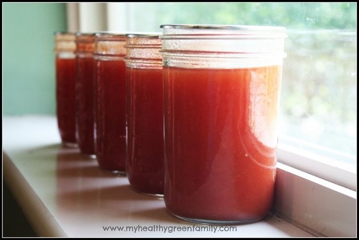 Copy Cat Campbell's Tomato Soup...canning recipe. Milk is added when you reheat the soup, it's condensed,