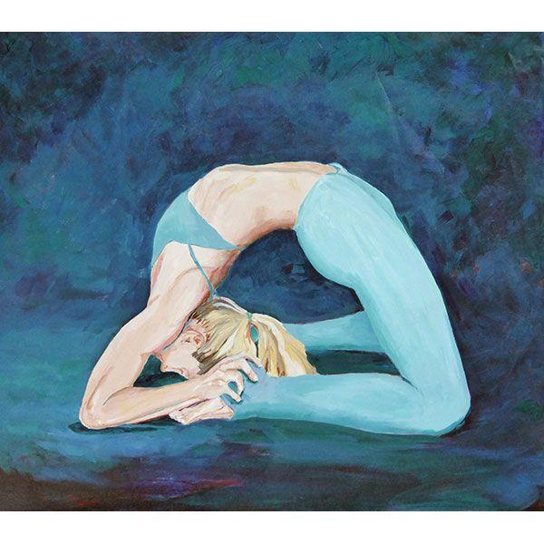 SG Kapotasana – yoga painter