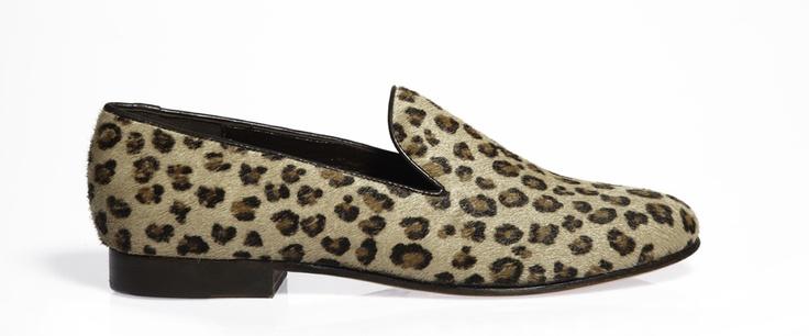 Cb leopard slippers