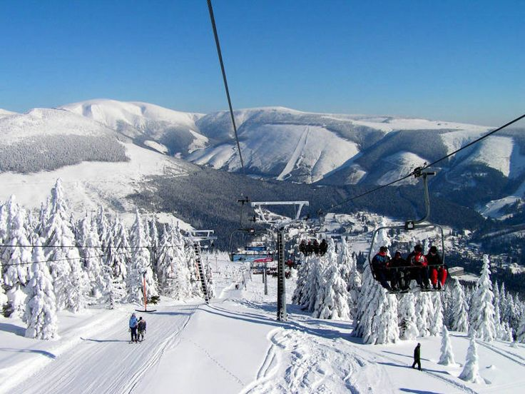 Ski resort in Czech Republic