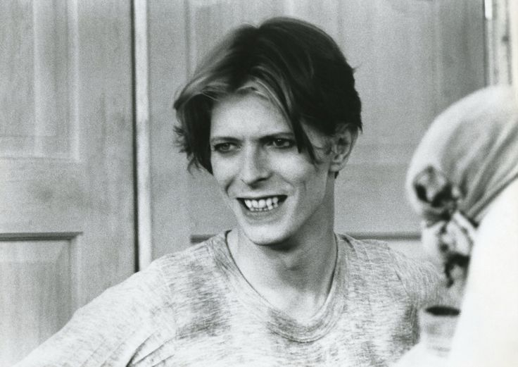 nightspell:The Man Who Fell To Earth, on the film set, 1975