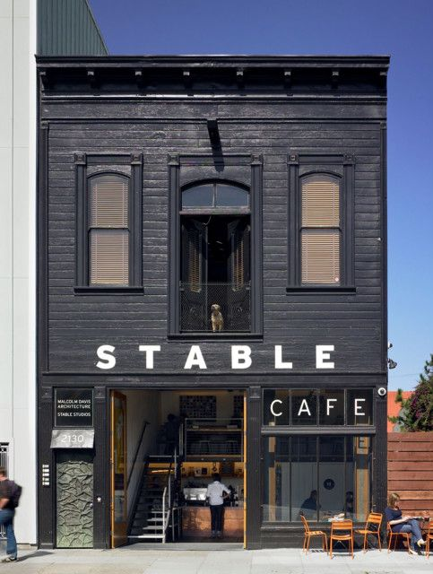 Stable Cafe storefront