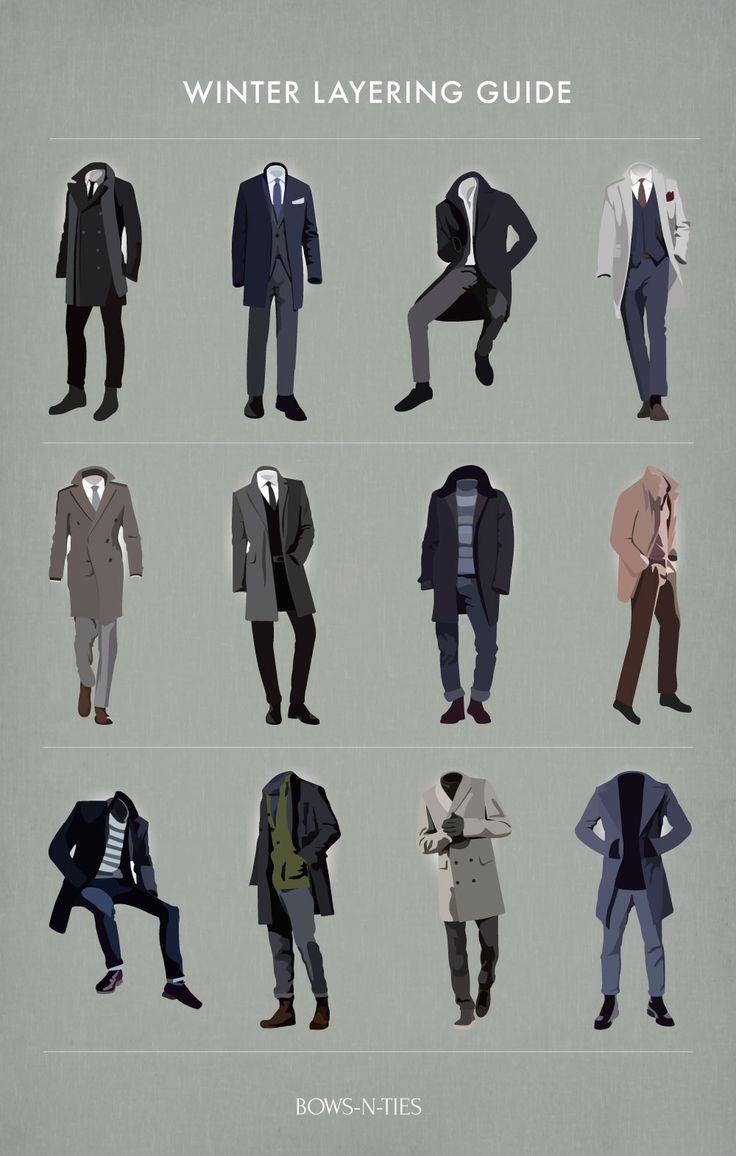 Menswear Winter Layering Tips