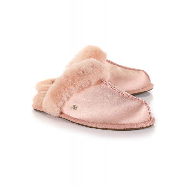 cbb2cab79ac Ugg Women's Scuffette II Satin Slippers - Suntan in 2019   Wish List ...