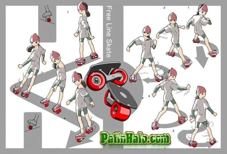 freeline skates #tutorial