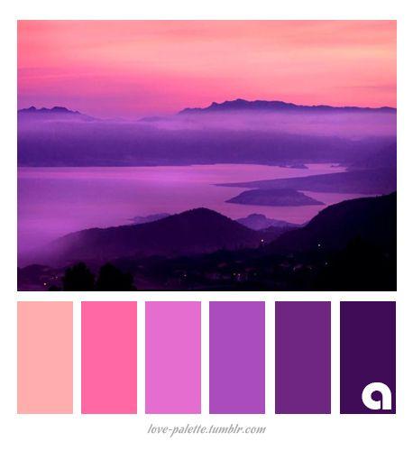 Purple Colour Scheme: Best 25+ Purple Color Combinations Ideas On Pinterest