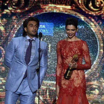 deepika padukone & Ranveer Singh at iifa 2014 | Deepika ...  deepika padukon...