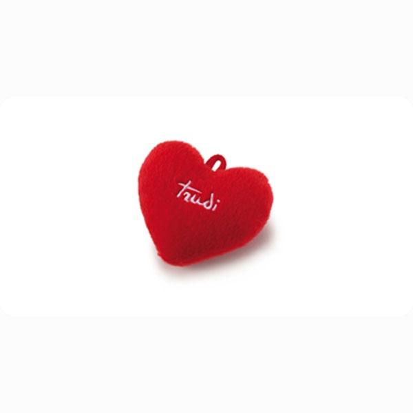 Cuoricino rosso Trudi Peluche www.shoptrudi.it