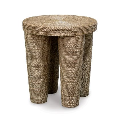 WRAPPED ROPE FOOTED STOOL/TABLE | Palecek