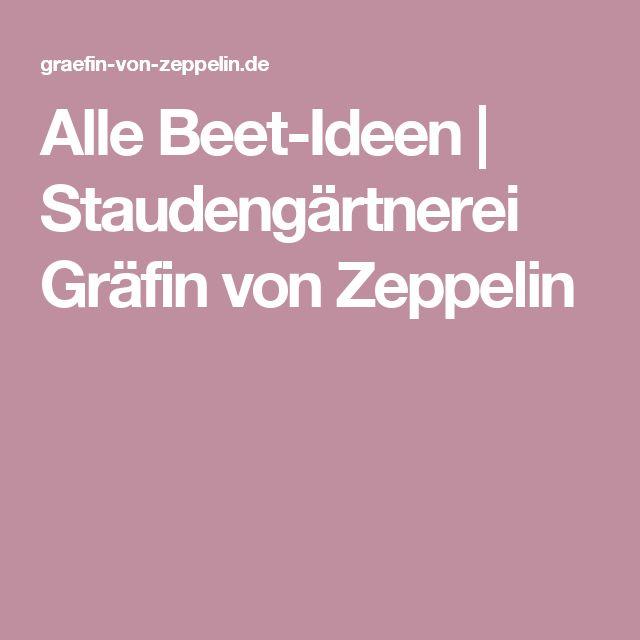 Alle Beet-Ideen | Staudengärtnerei Gräfin von Zeppelin