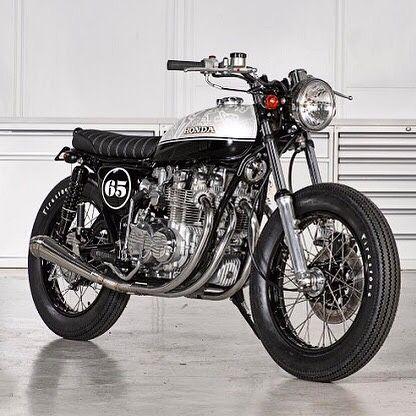 Jonathan Rea's Honda CB Brat Style #motorcycles #bratstyle #motos | caferacerpasion.com