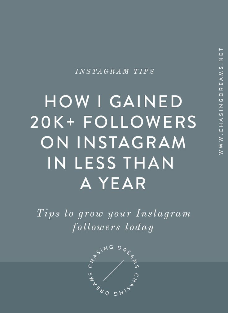 How I Gained 20,000+ Instagram Followers in Less Than a Year! Tried and tested ways to grow your Instagram following.