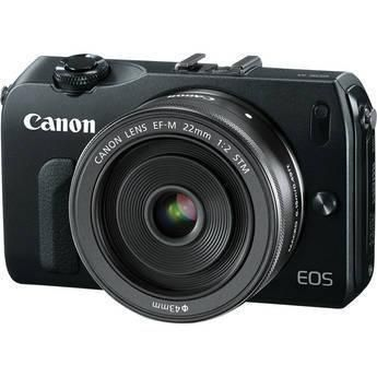 [Pre Order - allow extra time] Canon EOS-M Mirrorless Digital Camera with EF-M 22mm f/2 STM Lens - Black EOS-M Mirrorless Digital Camera with EF-M 22mm f/2 STM Lens - Black, 18.0 MP CMOS... More Details