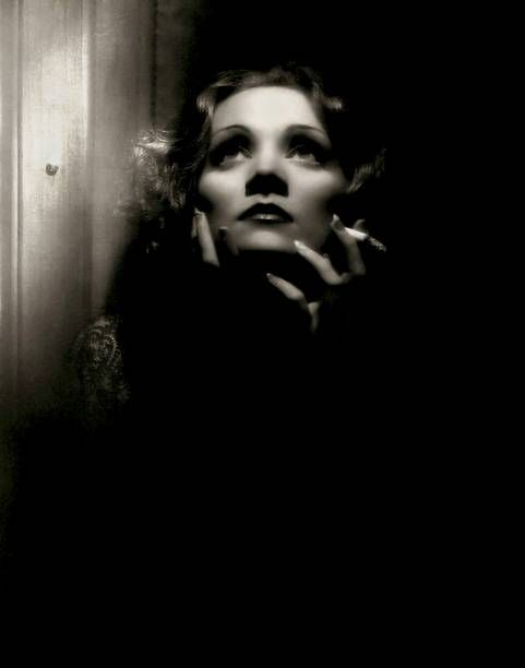 German singer and actress Marlene Dietrich poses for a portrait for the Paramount Pictures film 'Shanghai Express' directed by Josef von Sternberg in...