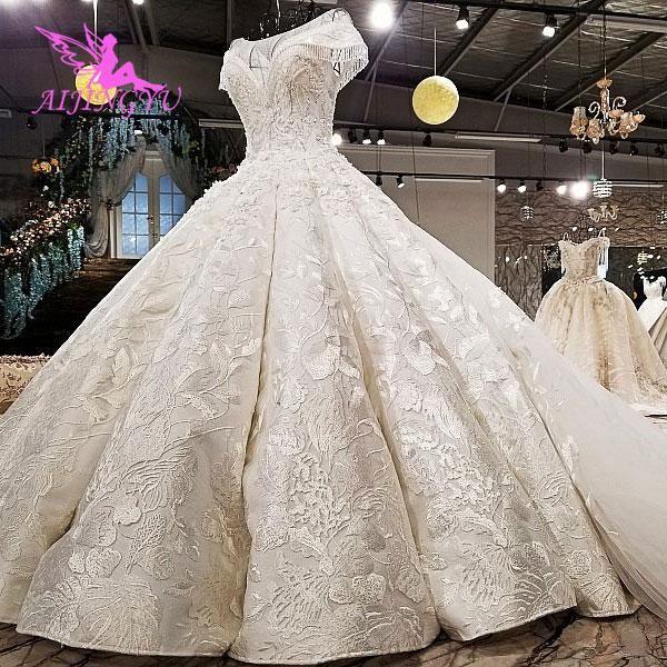 4be6060f4878a AIJINGYU Plus Size Wedding Dresses With Royal Ball White Boho ...
