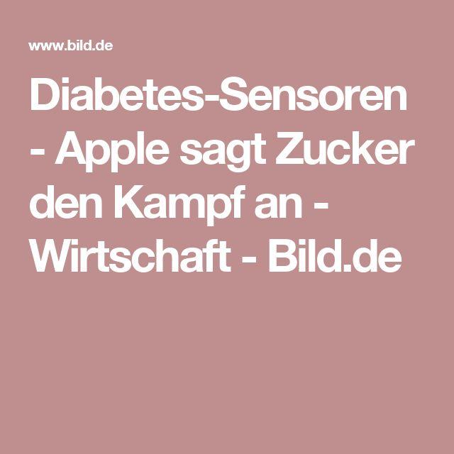 Diabetes-Sensoren - Apple sagt Zucker den Kampf an  - Wirtschaft - Bild.de