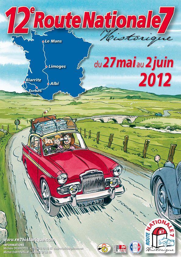 Route Nationale 7 Historique