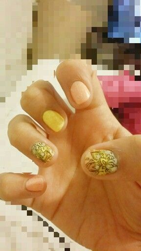 Nail art orquídeas