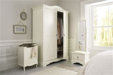 Isabella® Ivory Range - love this classic range. How classy my clothes would look, neatly hung in here