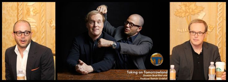 Taking on Tomorrowland: Director Brad Bird and Producer Damon Lindelof #TomorrowlandEvent