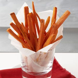 Roasted Carrot Fries Recipe from Taste of Home