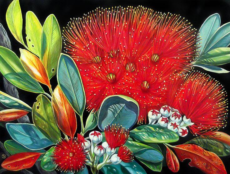 Summer Red by Irina Velman. Artprints from www.imagevault.co.nz