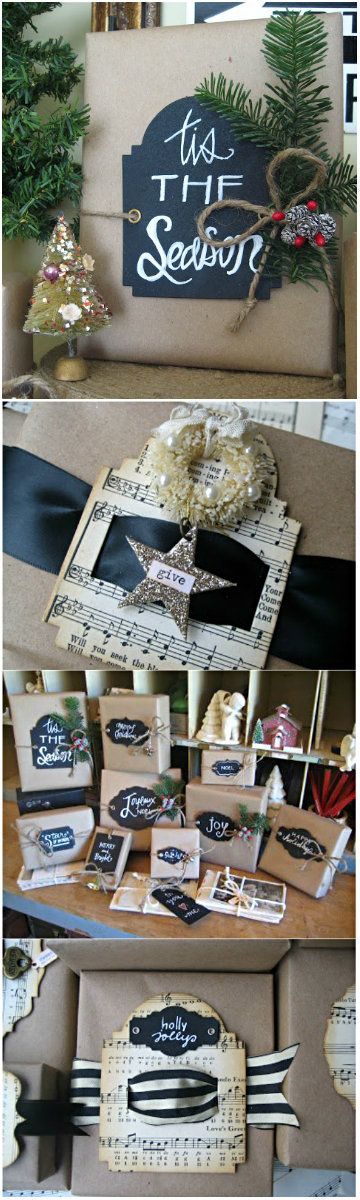 Wrapping ideas with kraft paper