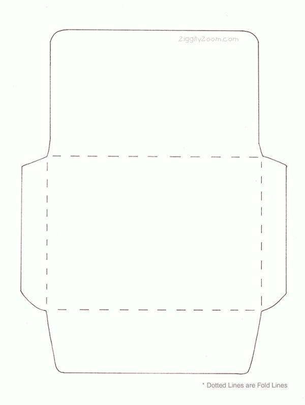 Make Your Own Envelope | Ziggity Zoom